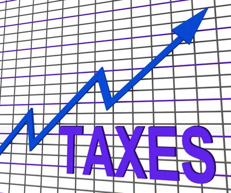 excise: Tasse Grafico Grafico Mostro fiscale aumentando o Fiscalit�