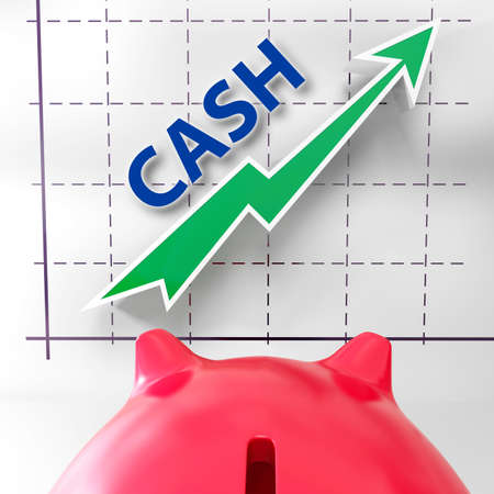 earn more: Cash Graph Meaning More Money And Earnings