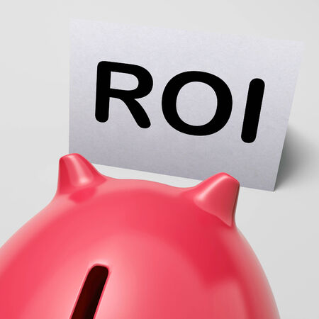 ROI Piggy Bank Meaning Investing Financing And Return