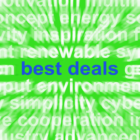 Best Deals Words Meaning Low Prices Or Amazing Offers photo