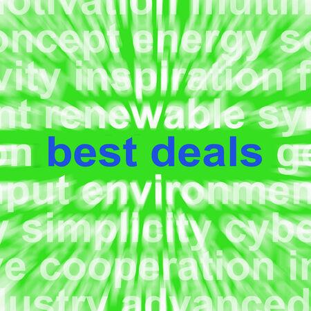 reduced value: Las mejores ofertas de palabras que significan bajos precios u ofertas incre�bles