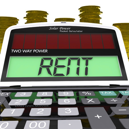landlord: Rent Calculator Meaning Payments To Landlord Or Property Manager