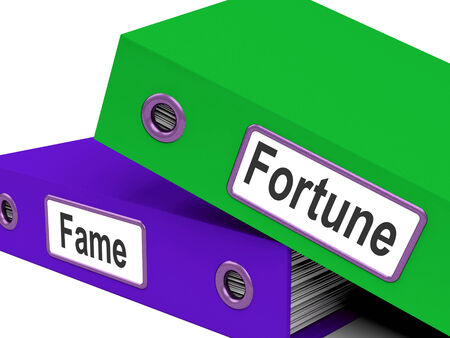 known: Fortune Fame Folders Meaning Rich Or Well Known