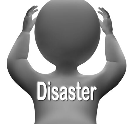 calamity: Disaster Character Meaning Crisis Calamity Or Catastrophe