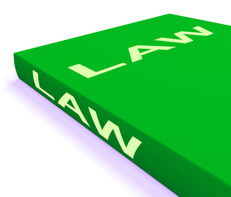 lawfulness: Law Book Showing Books About Legal Justice