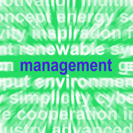 governing: Management Word Showing Authority Administration And Governing