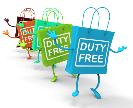exempt: Duty Free Bags Showing  Tax Exempt Discounts