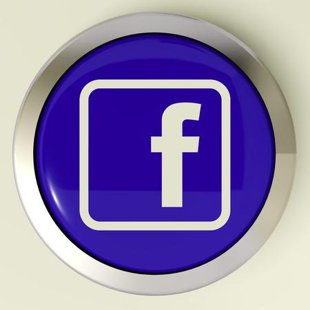 Facebook Button Means Connect To Face Book