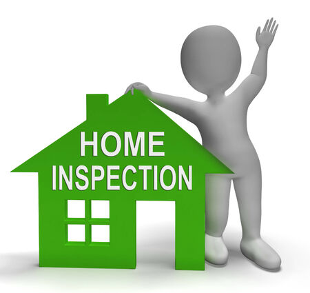 Home Inspection: Home Inspection House Showing Examine Property Close-Up