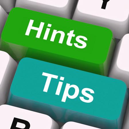 Astuces Conseils Touches Signification orientation et des conseils