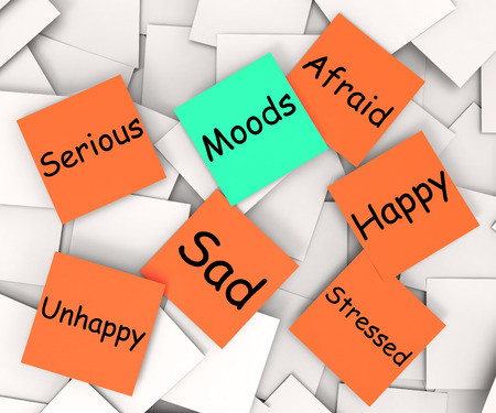 state mood: Moods sticky Note Meaning Emotions And Feelings