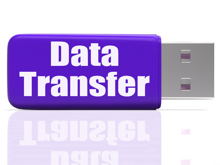 archiving: Data Transfer Pen drive Showing Data Storage Archiving Or Files Transfer