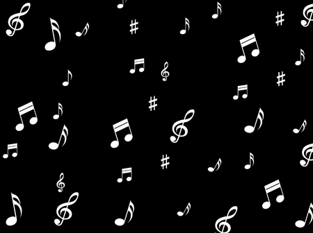 melodies: Musical Notes Background Meaning Melodies Sounds And Notes