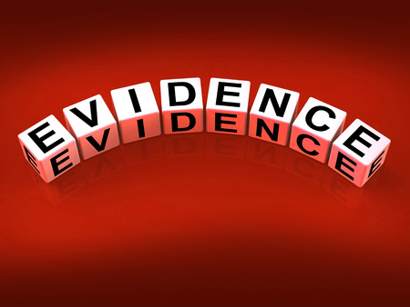 substantiate: Evidence Blocks Representing Evidential Substantiation and Proof