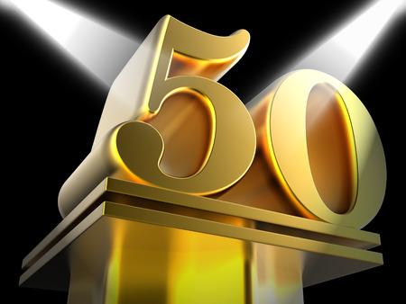 Gouden Vijftig Op Voetstuk Betekenis Movie Awards Of Recognition