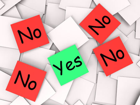 Yes No Notes Meaning Positive Or Declining