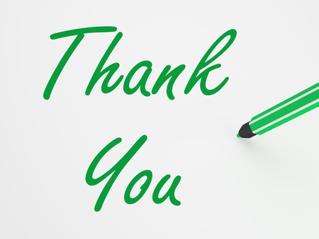thankfulness: Thank You On whiteboard Meaning Gratitude Thankfulness And Appreciation