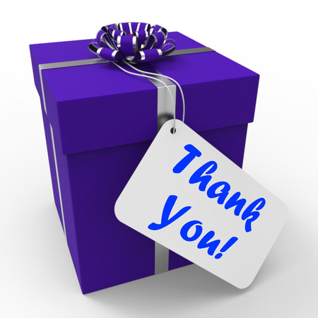 Thank You Gift Meaning Grateful And Appreciative