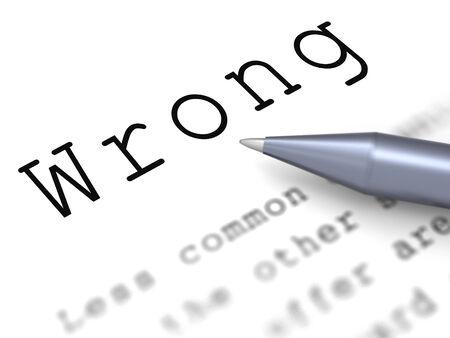 untrue: Wrong Word Meaning False Bad Or Improper