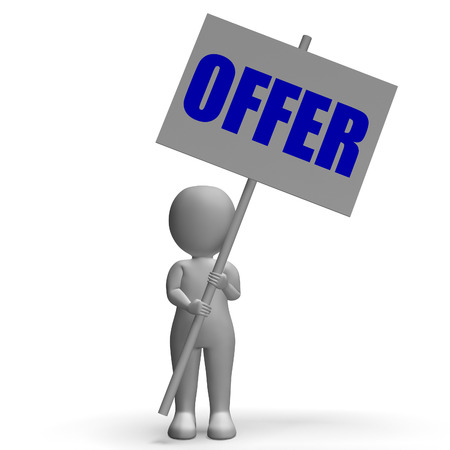 Offer Protest Banner Meaning Special Discounts Deals And Promotions photo