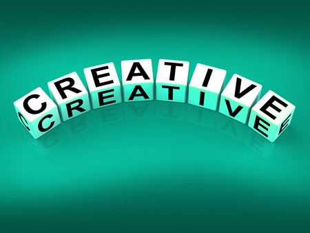 imaginative: Creative Blocks Meaning Innovative Inventive and Imaginative