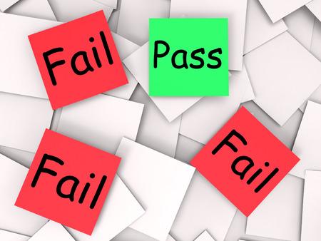 başarısız: Geçiş Başarısız Notlar Onaylı Veya Başarısız Anlamı
