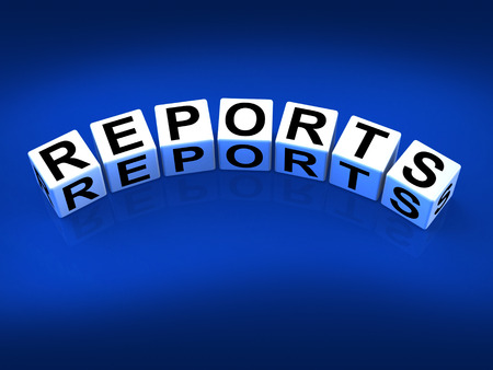 articles: Reports Blocks Representing Reported Information or Articles