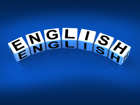 vocabulary: English Blocks Referring to Speaking and Writing Vocabulary from England