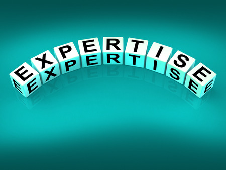 proficiency: Expertise Blocks Meaning Expert Skills Training and Proficiency