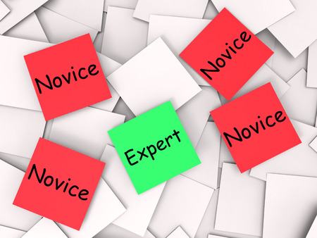 inexperienced: Expert Novice Notes Meaning Experienced Or Inexperienced