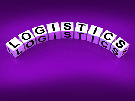 coordinating: Logistics Blocks Showing Logistical Strategies and Plans