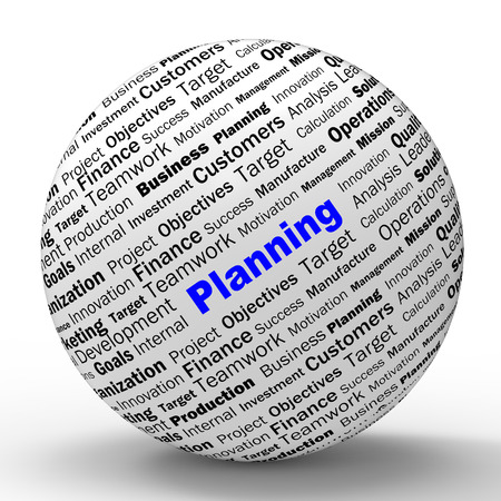 planned: Planning Sphere Definition Meaning Mission Planning Aspiration Or Objective