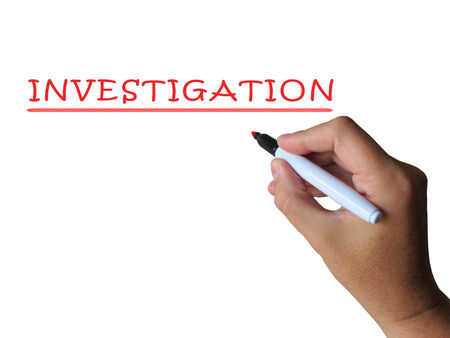 findings: Investigation Word Meaning Examination Inspection And Findings