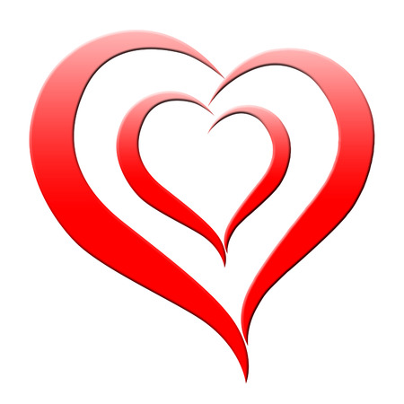 romanticism: Red Heart Meaning Romanticism Passion And Amour