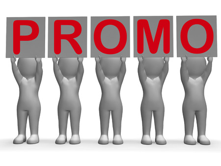 Promo Banners Showing Special Offers Discounts And Promotions photo