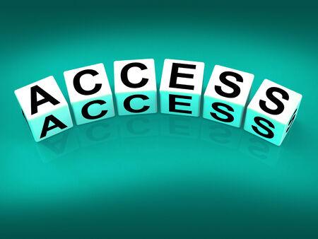 accessibilit�: Blocca l'accesso Mostro accettazione Accessibilit� e cognome