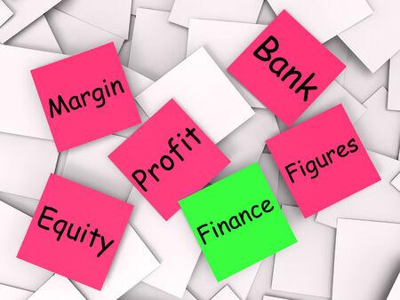 equidad: Finanzas Nota Mostrando Equidad O Margen