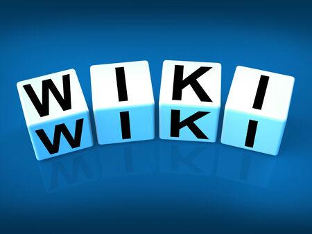 faq's: Wiki Blocks Representing Wikipedia and Internet Faqs