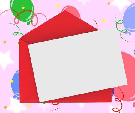 correspond�ncia: Envelope vermelho com nota Significado Correspond�ncia rom�ntico ou carta de amor