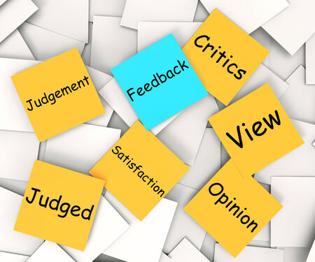 constructive: Feedback Note Meaning Evaluation And Comments