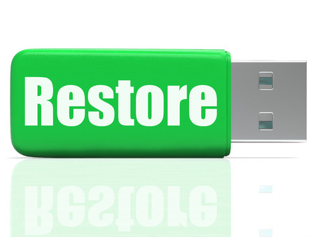 pen drive: Restore Pen drive Showing Data Security Backup And Restoration