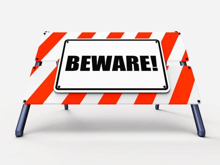 경고 의미 경고 경고 또는 위험