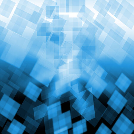 pixeled: Light Blue Cubes Background Showing Pixeled Wallpaper Or Concept