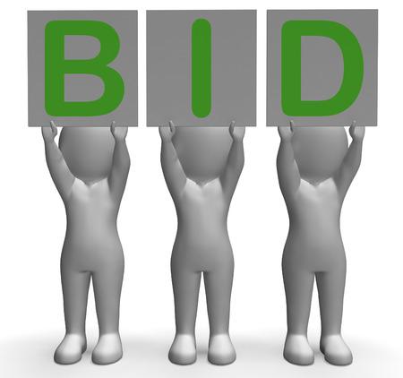 bid: Oferta Banners Mostrando Subasta postor vendedor y subastas