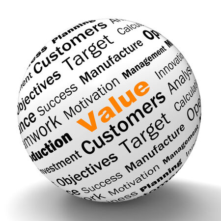 importance: Value Sphere Definition Meaning Importance Worth And High Value