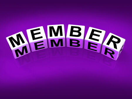 Member blocks Showing Subscription Registration and Membership
