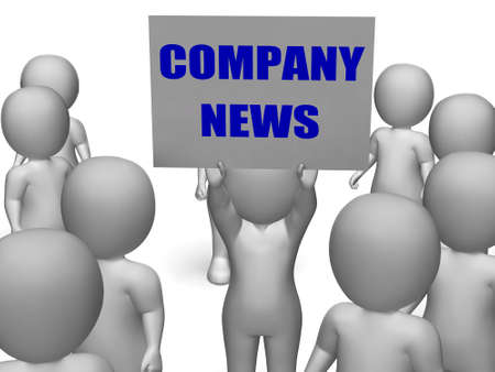 Company News Board Character Meaning Corporate Assets Earnings And Finances