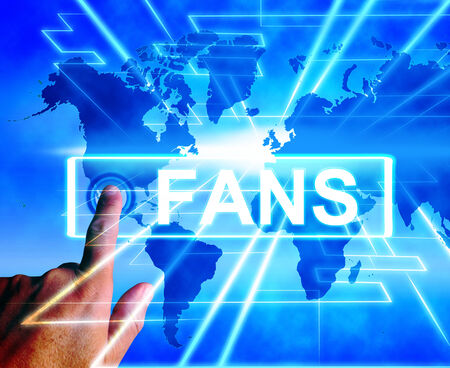 admirers: Fans Map Displaying Worldwide or International Followers or Admirers