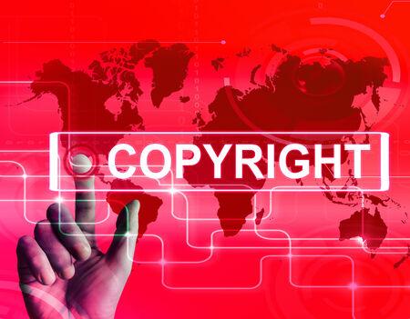 originator: Copyright Map Displaying International Patented Intellectual Property