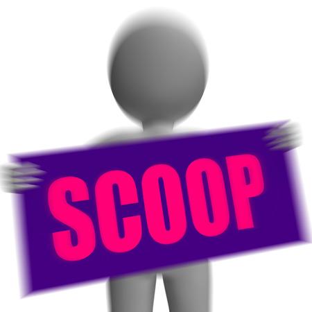 tatter: Scoop Car�cter de signo Viendo gossipmonger O andrajo Intimate